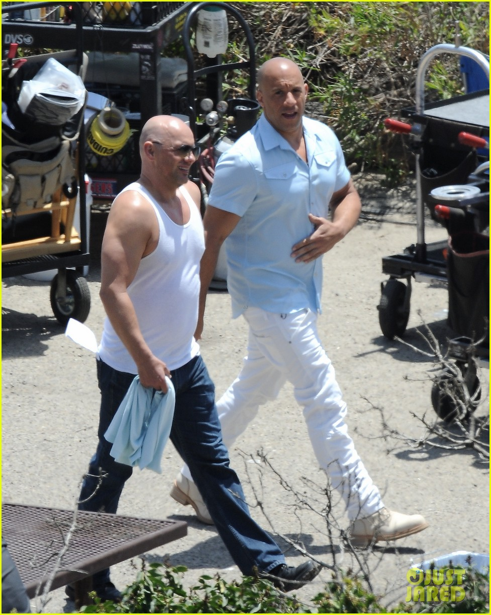 paul walkers brothers get to work on fast furious 7 with the cast 15