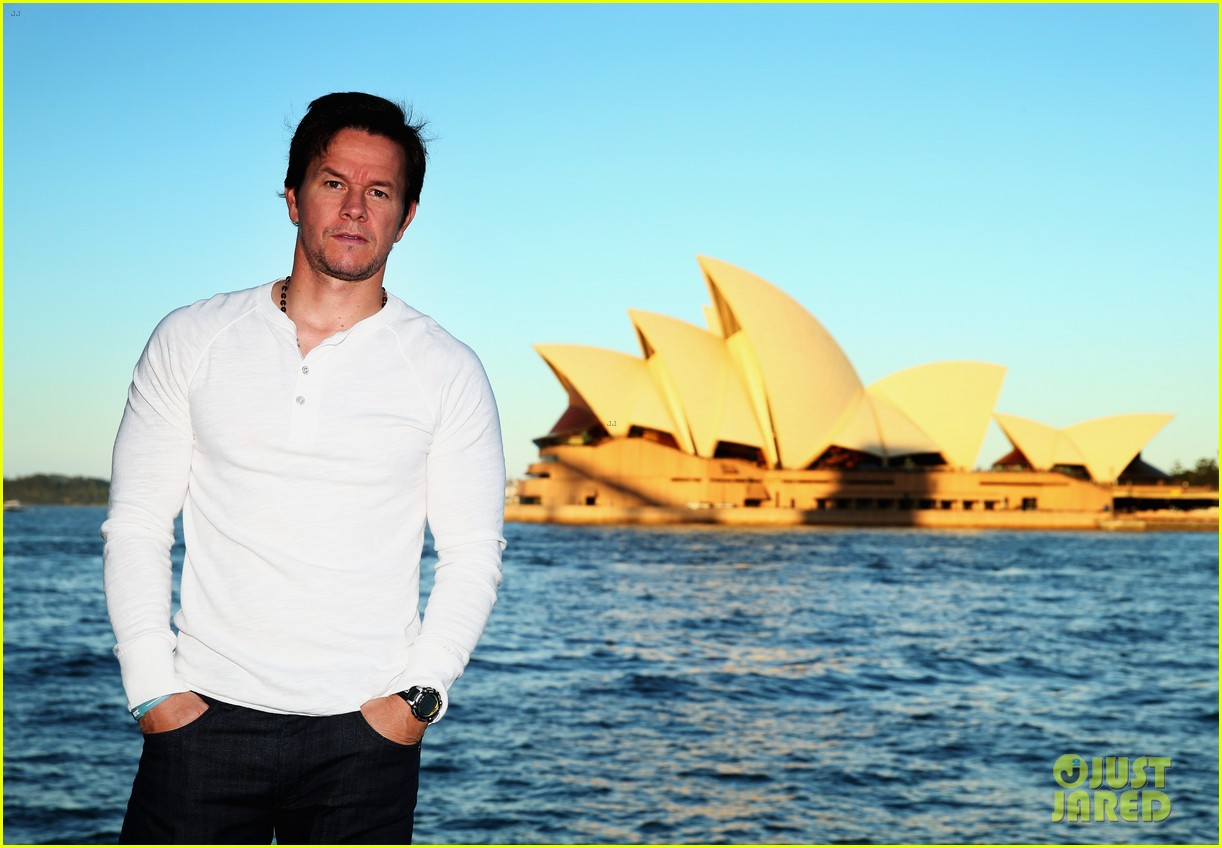 mark wahlberg begins transformers 4 promo tour in sydney 133118776