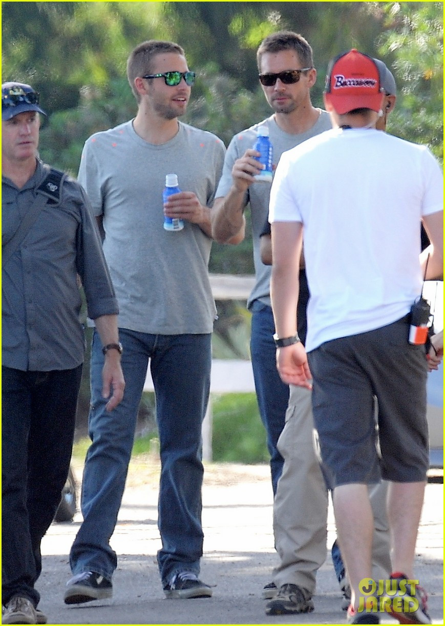 paul walker lookalike brothers spotted fast furious set 133116018