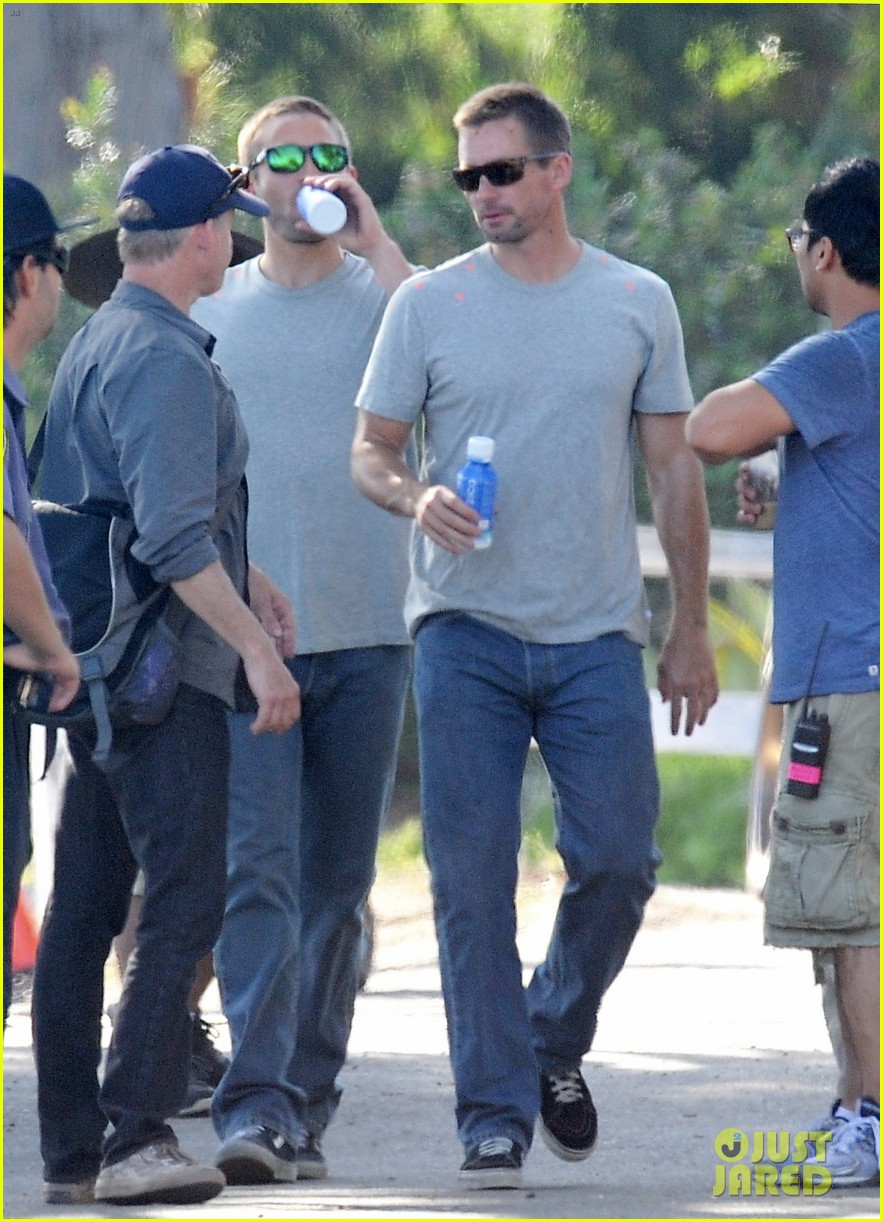 paul walker lookalike brothers spotted fast furious set 14