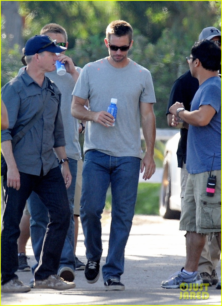 paul walker lookalike brothers spotted fast furious set 20