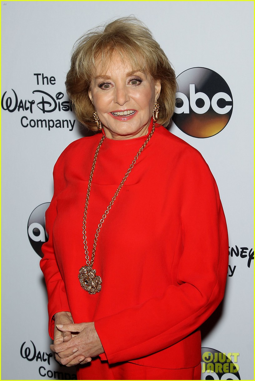 barbara walters joins the view co hosts at celebration 073114358