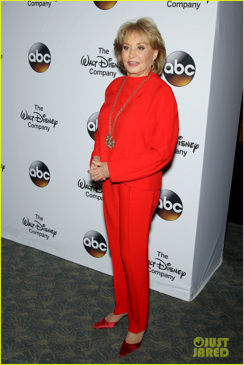 barbara walters joins the view co hosts at celebration 083114359