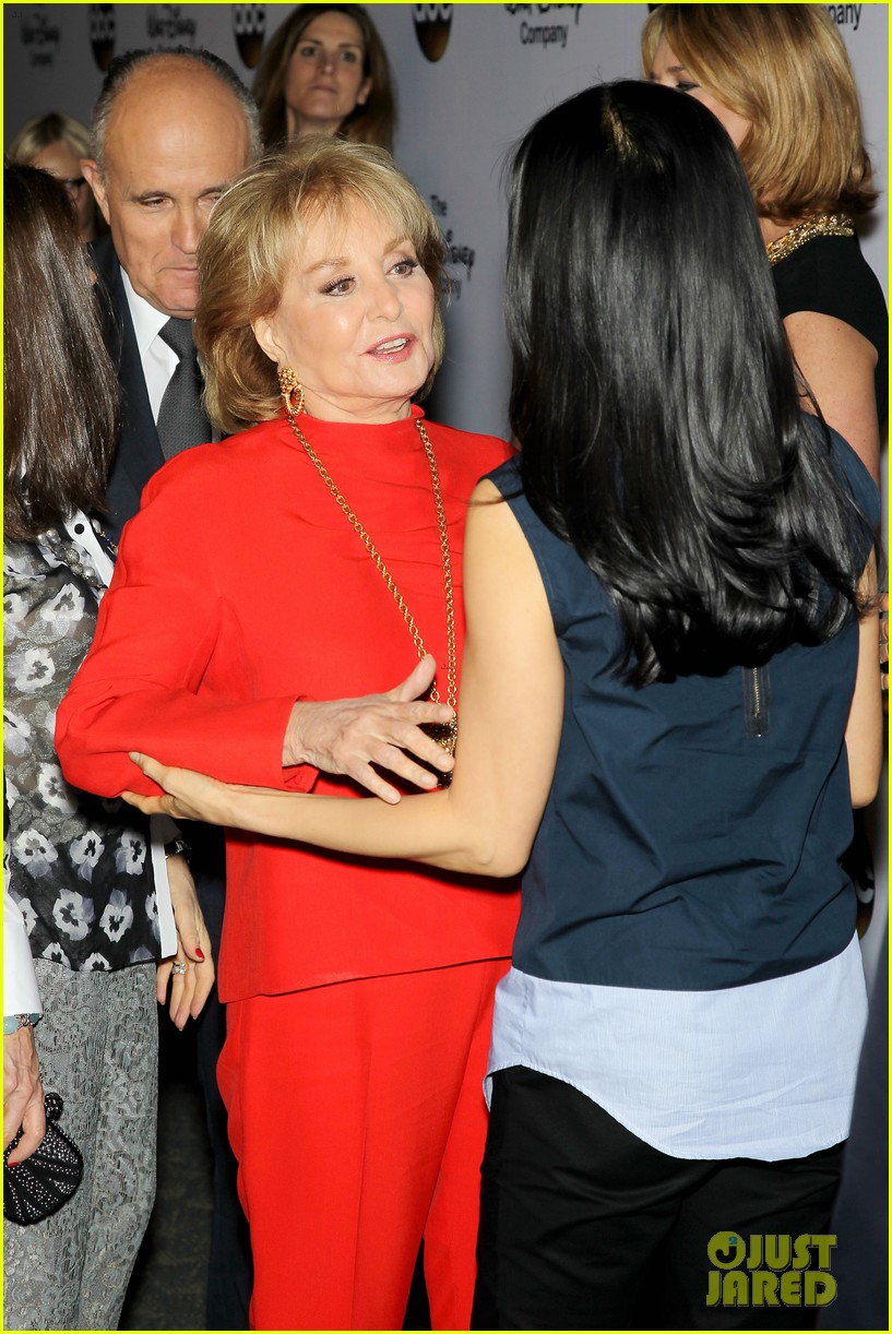 barbara walters joins the view co hosts at celebration 193114370