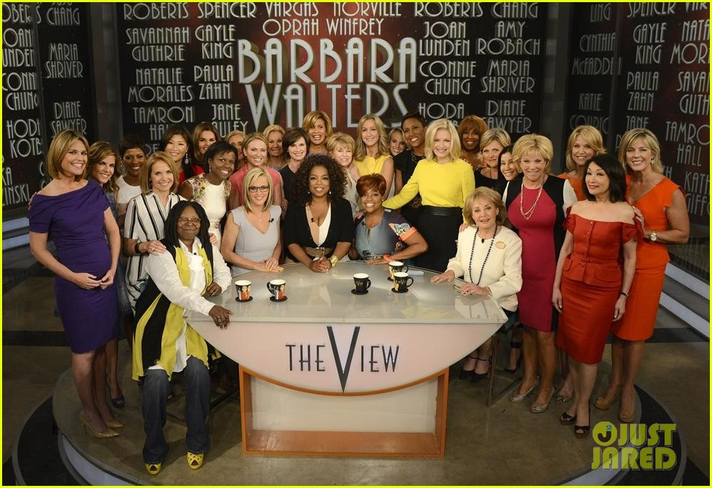 barbara walters final view episode brings out newscasters 023115041