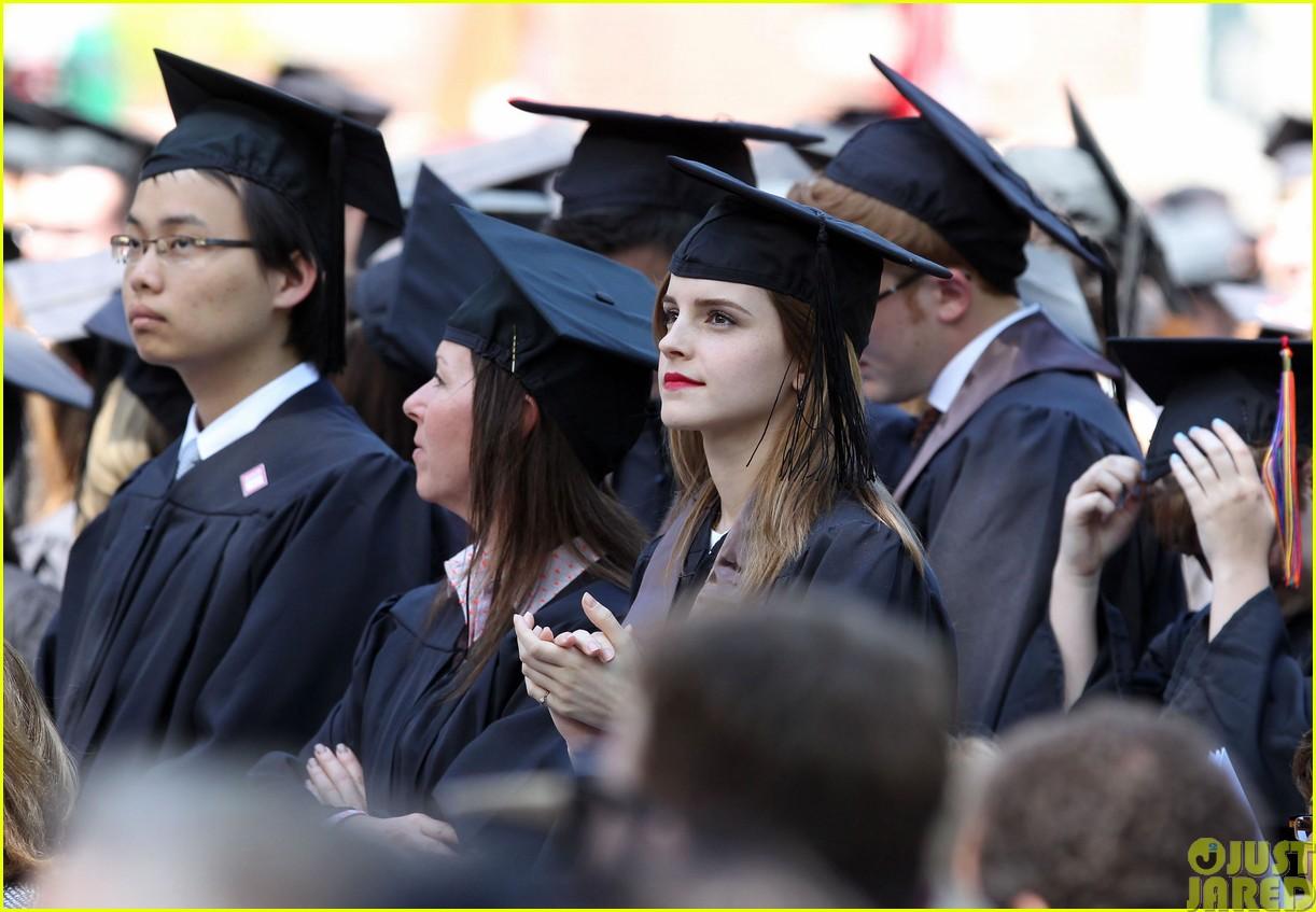 emma watson graduates brown university lit major10