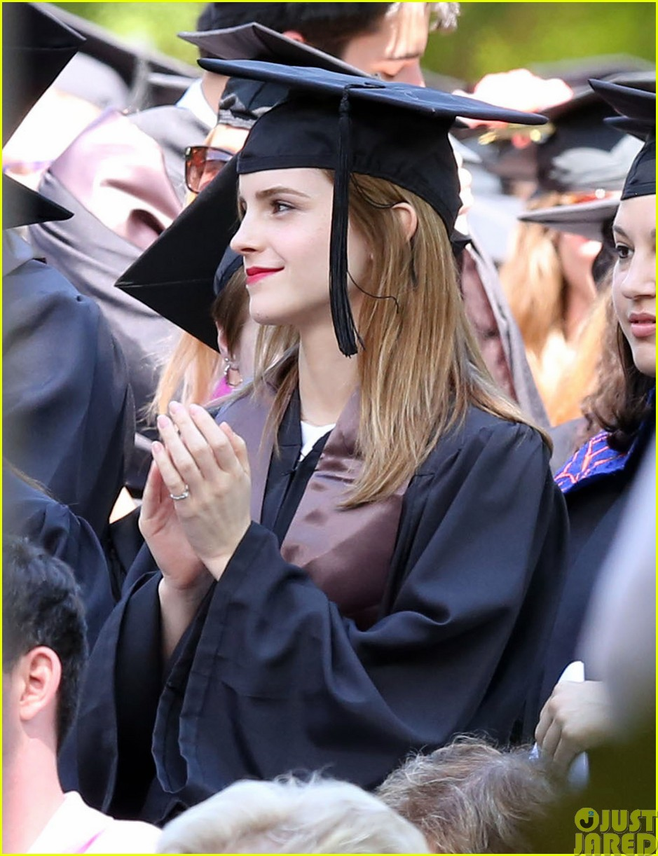 emma watson graduates brown university lit major163122095