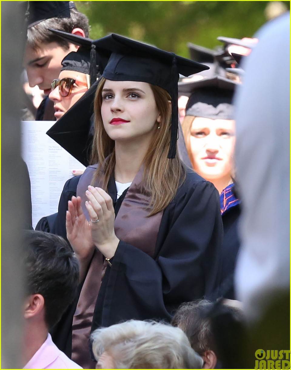emma watson graduates brown university lit major183122097