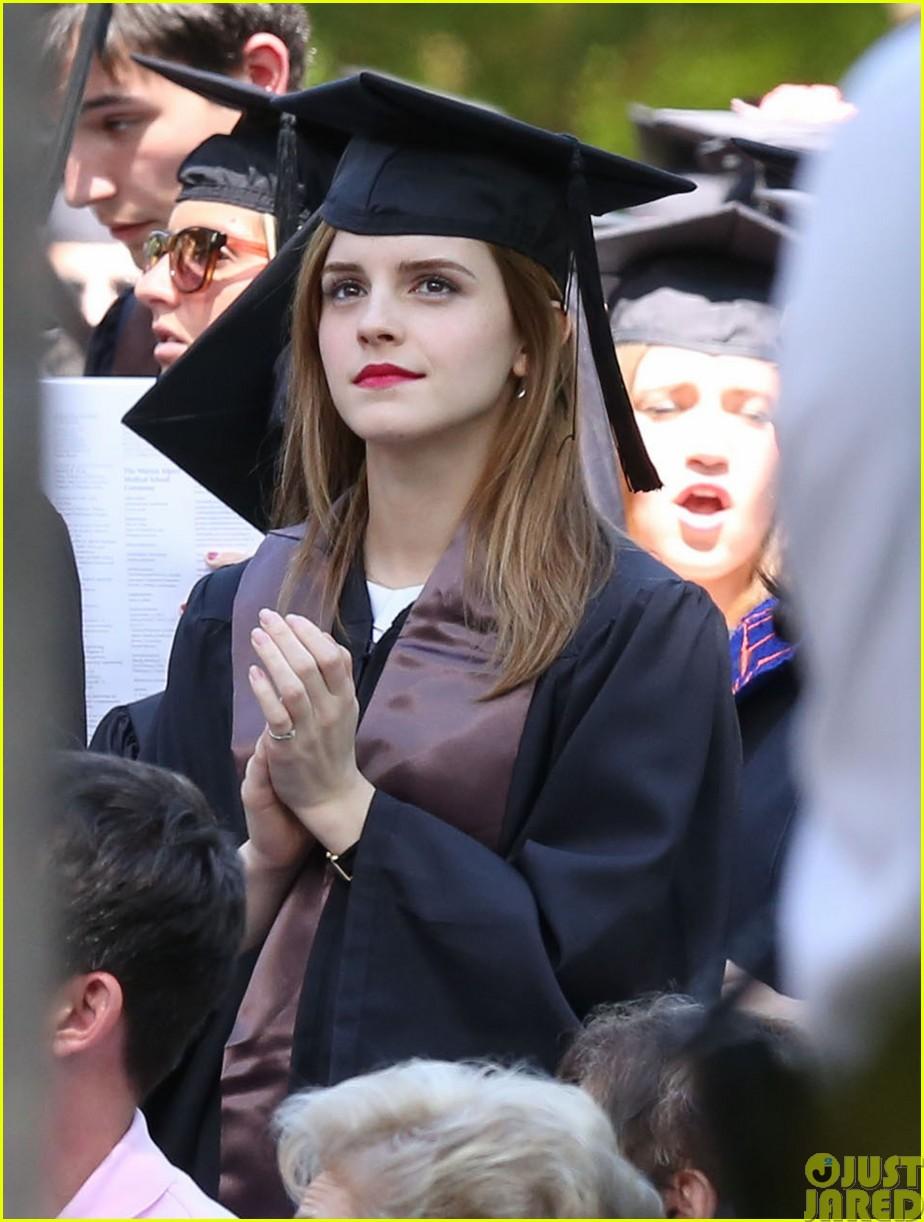emma watson graduates brown university lit major19