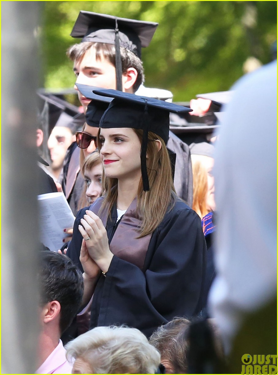 emma watson graduates brown university lit major22
