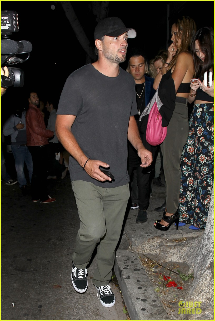 tom welling parties at warwick nightclub 033109964