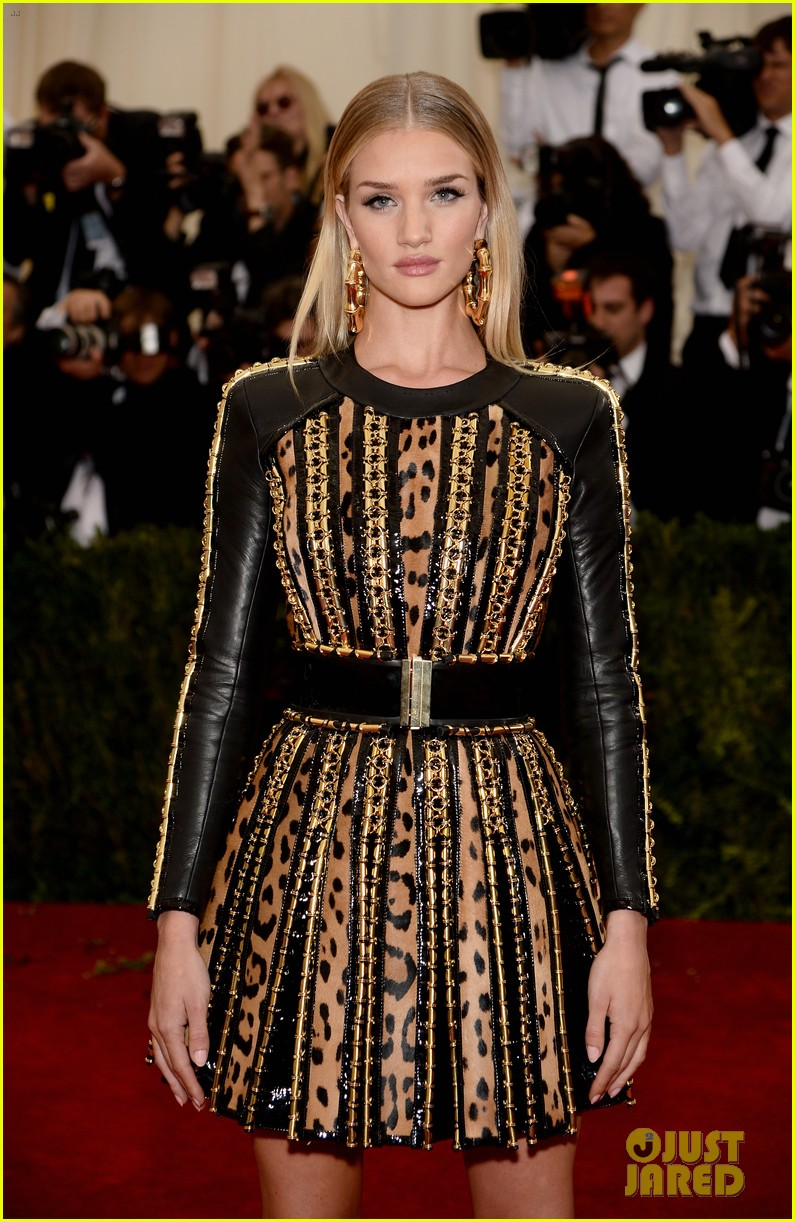 rosie huntington whiteley is picture perfect at met ball 2014 02