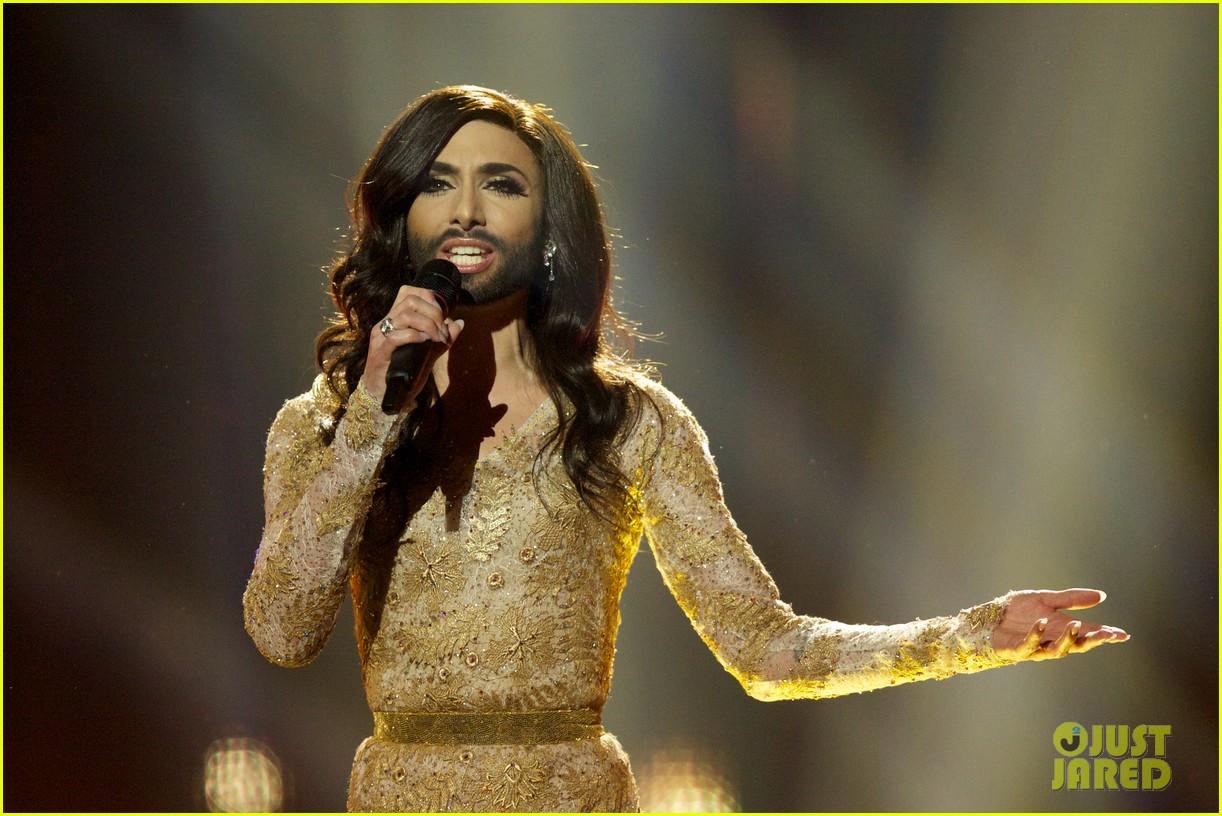 conchita wurst bearded drag queen wins eurovision 103110284