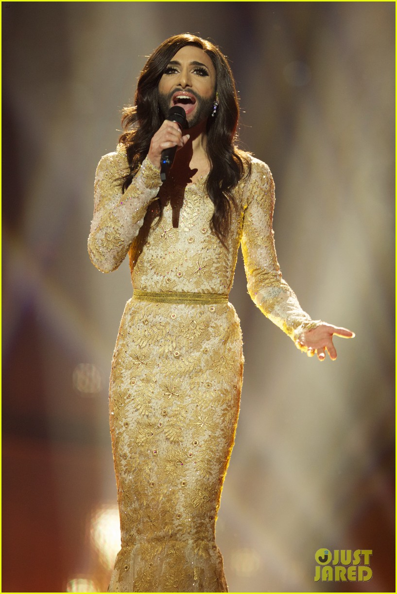 conchita wurst bearded drag queen wins eurovision 133110287