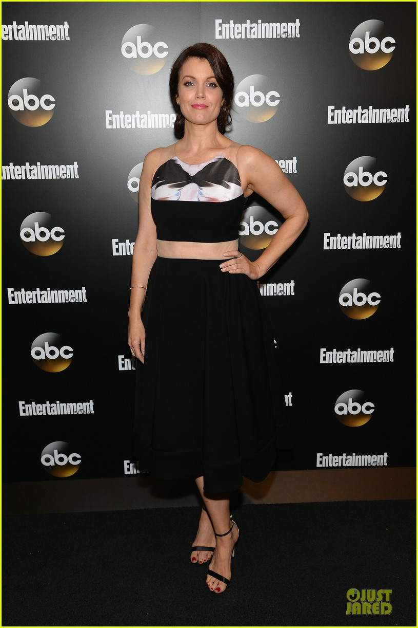 bellamy young tony goldwyn scandal abc upfront party 013112921