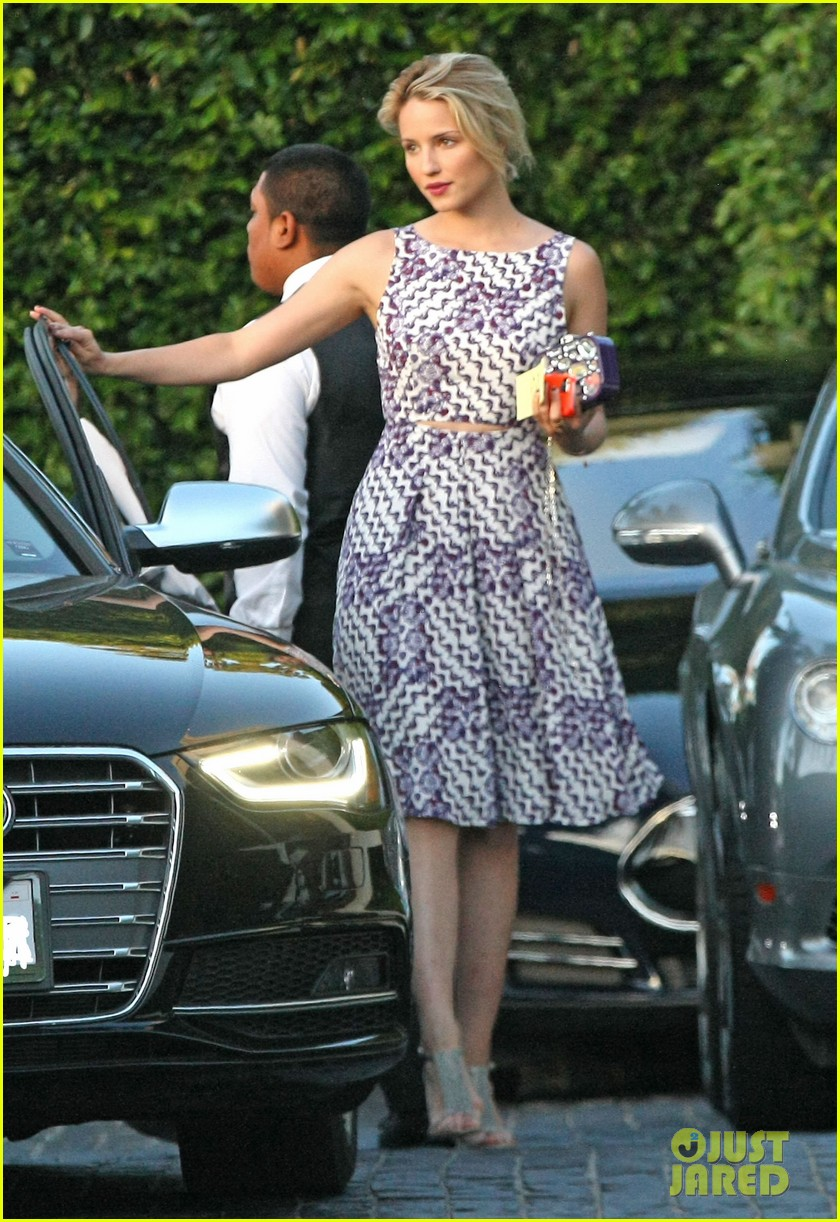 dianna agron thank goodness kevin mchale 073137362