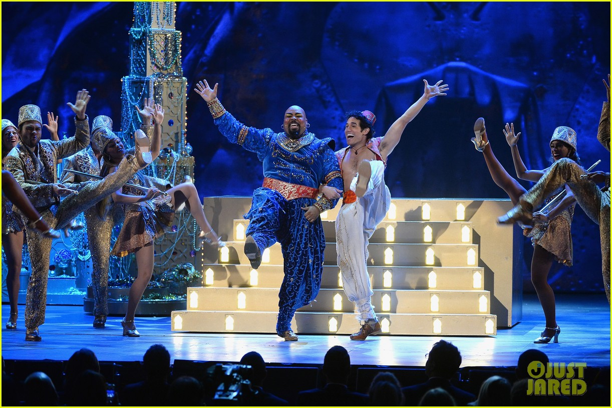 james monroe iglehart performs aladdin tonys awards 2014 013131322