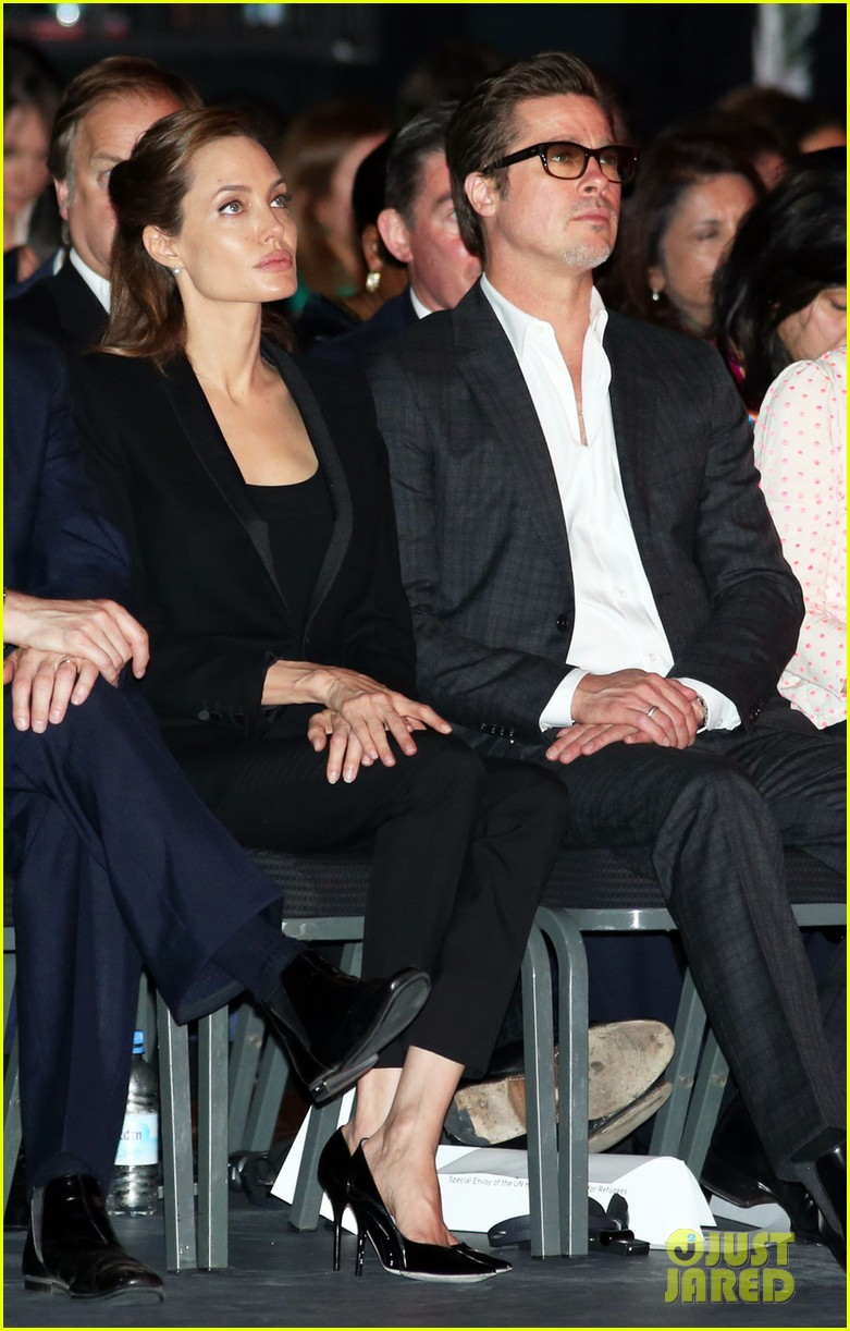 amal alamuddin brad pitt angelina jolie anti rape summit 033134102