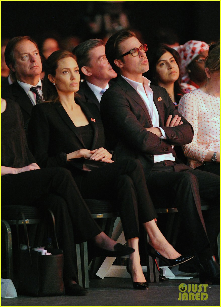 amal alamuddin brad pitt angelina jolie anti rape summit 093134108