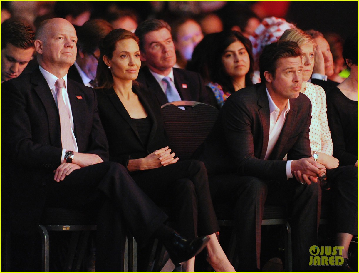 amal alamuddin brad pitt angelina jolie anti rape summit 103134109