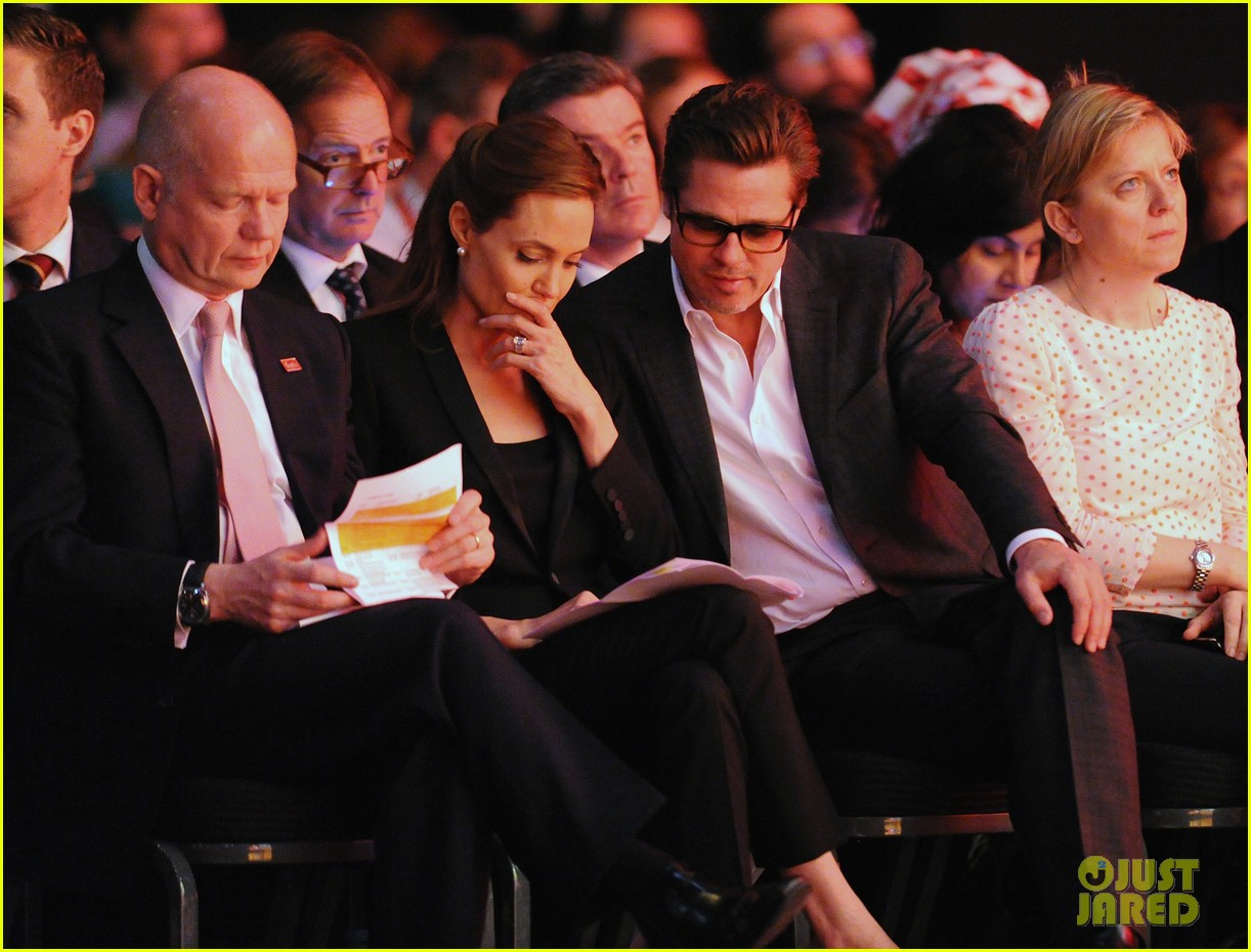 amal alamuddin brad pitt angelina jolie anti rape summit 123134111