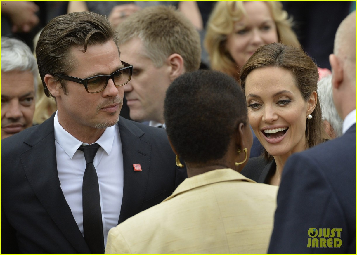 amal alamuddin brad pitt angelina jolie anti rape summit 18