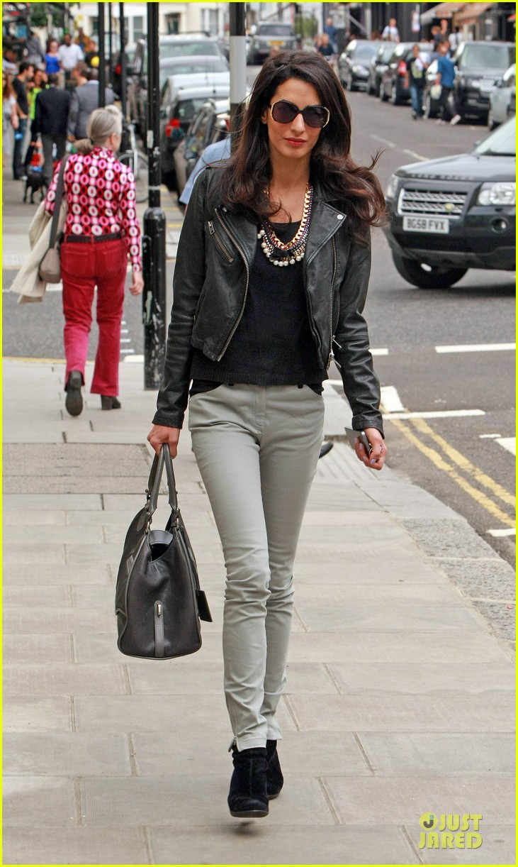 amal alamuddin epitome urban chic in london 113135389