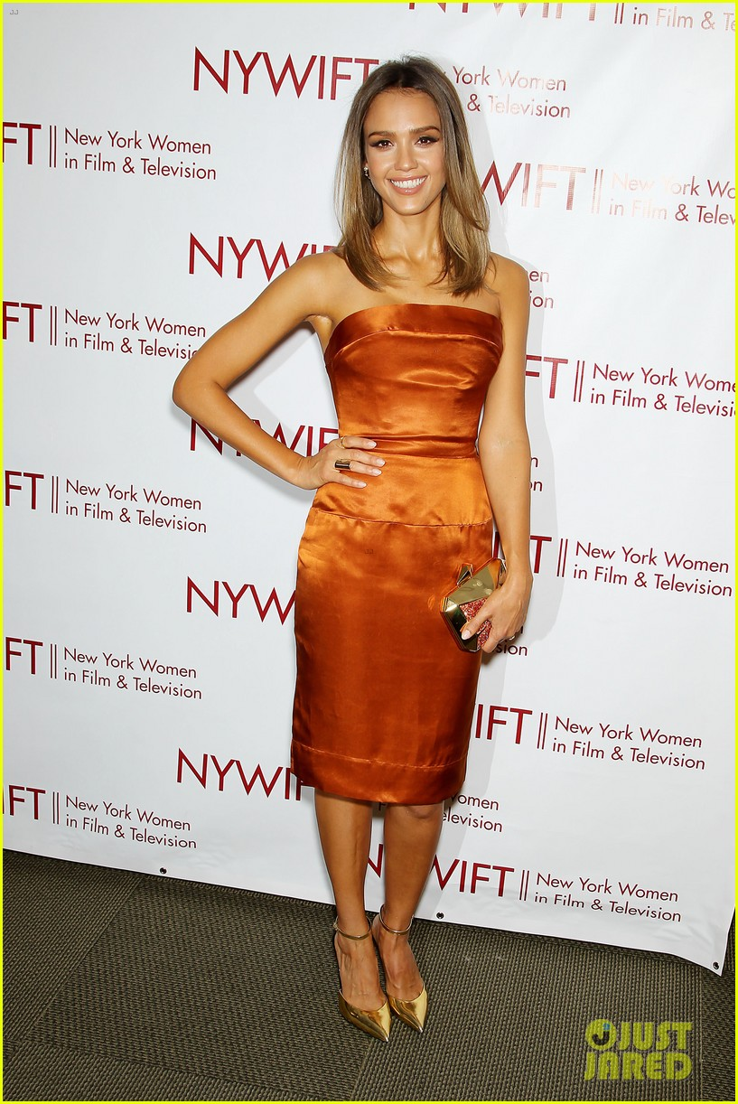 Pleasing Jessica Alba Rose Byrne Honor Nys Women In Film Tv Photo Hairstyle Inspiration Daily Dogsangcom