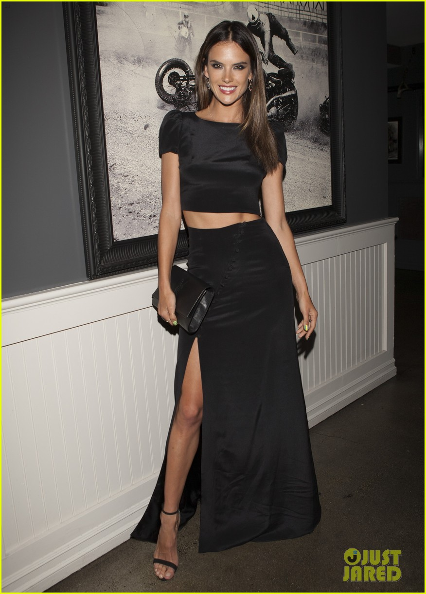 alessandra ambrosio shows off her fabulous figure at orlando hotel party 05