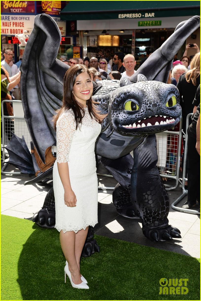 america ferrera how to train dragon 2 london 013141135
