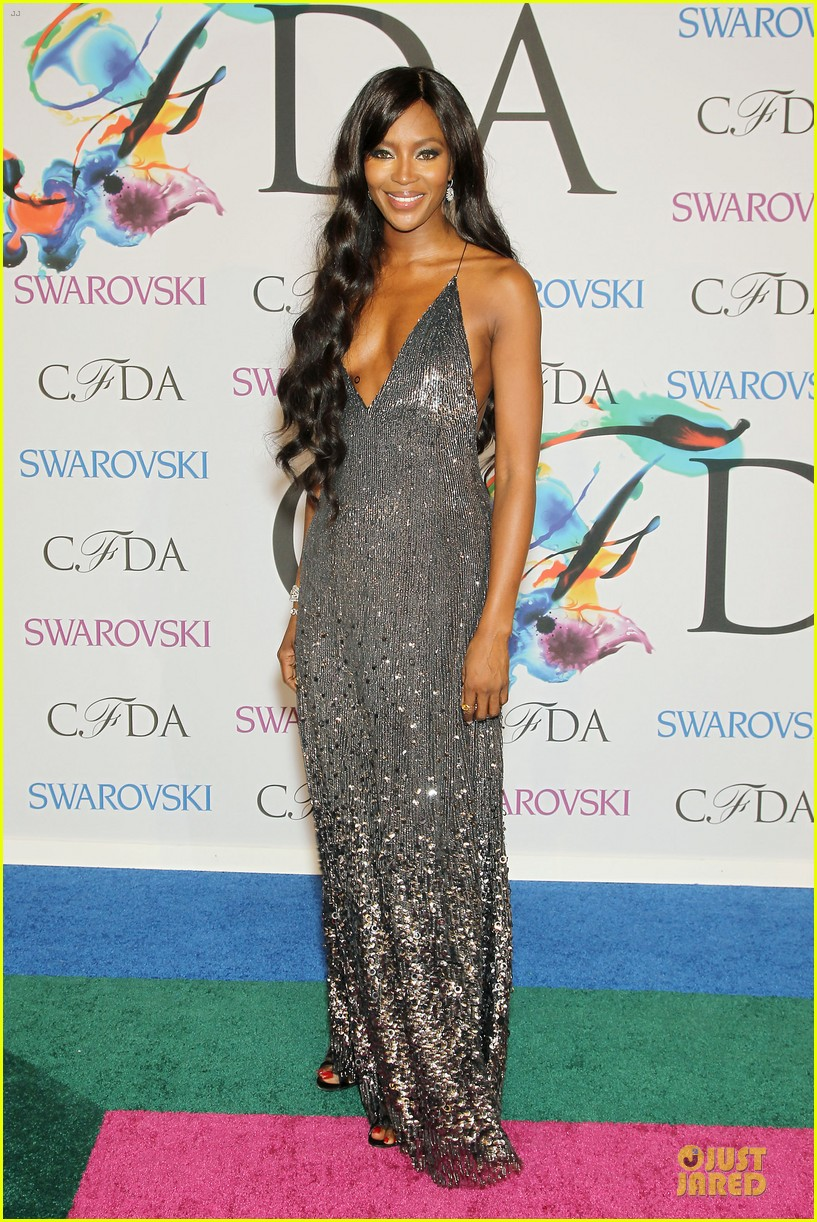 anne v naomi campbell face cfda awards 2014 133126960