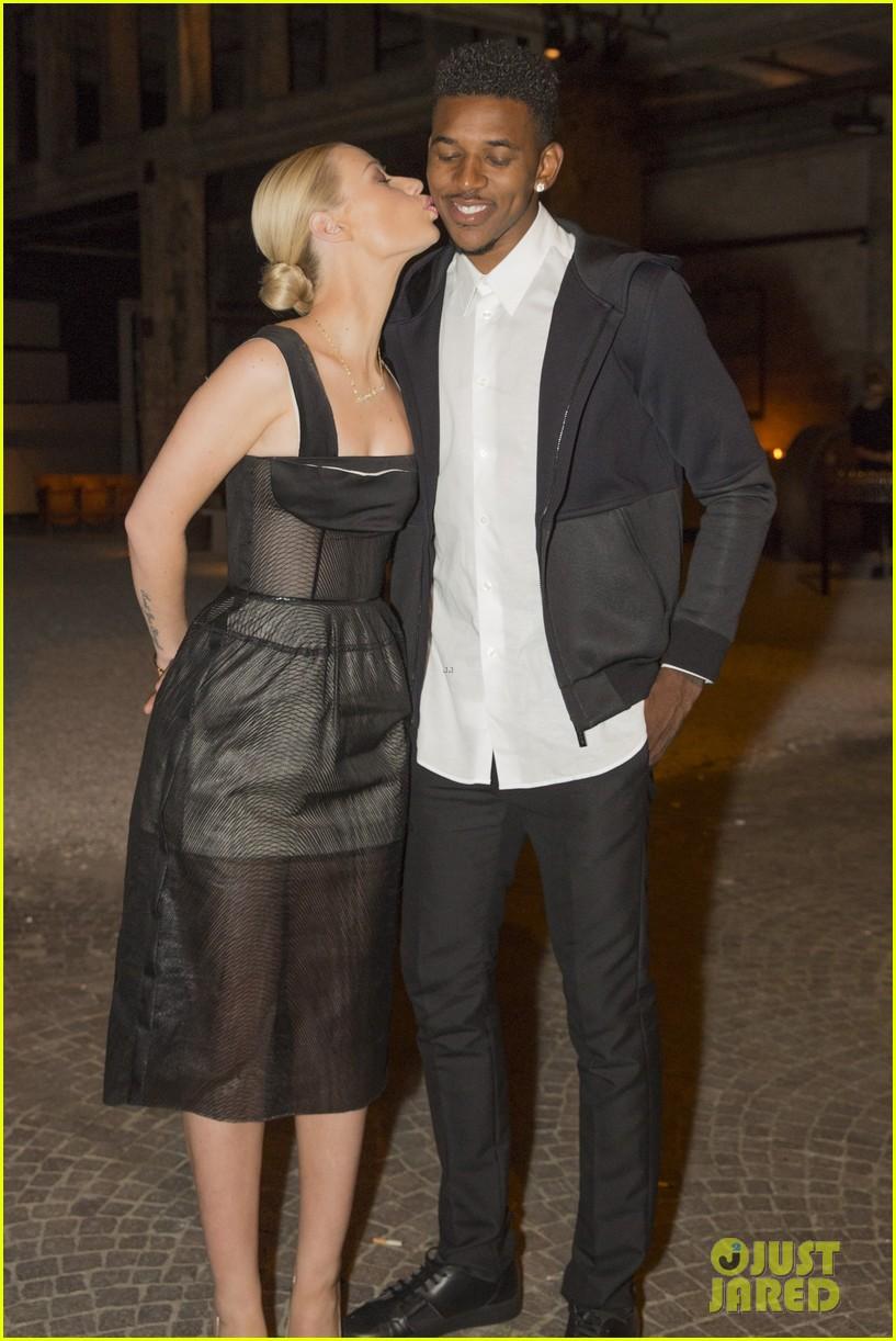 iggy azalea boyfriend nick young are fashionable duo for calvin klein 023141693