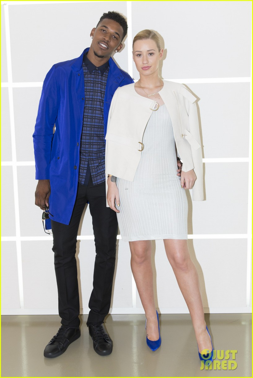 iggy azalea boyfriend nick young are fashionable duo for calvin klein 053141696