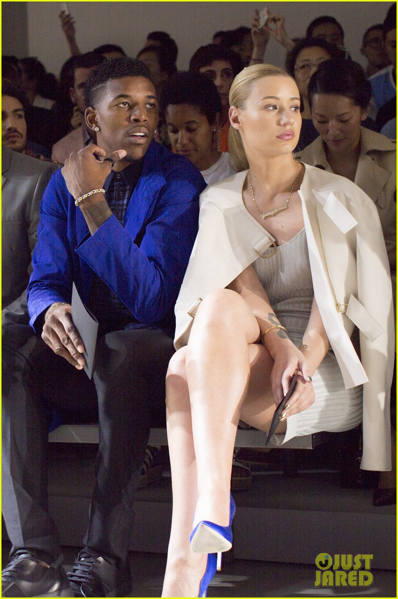 iggy azalea boyfriend nick young are fashionable duo for calvin klein 063141697