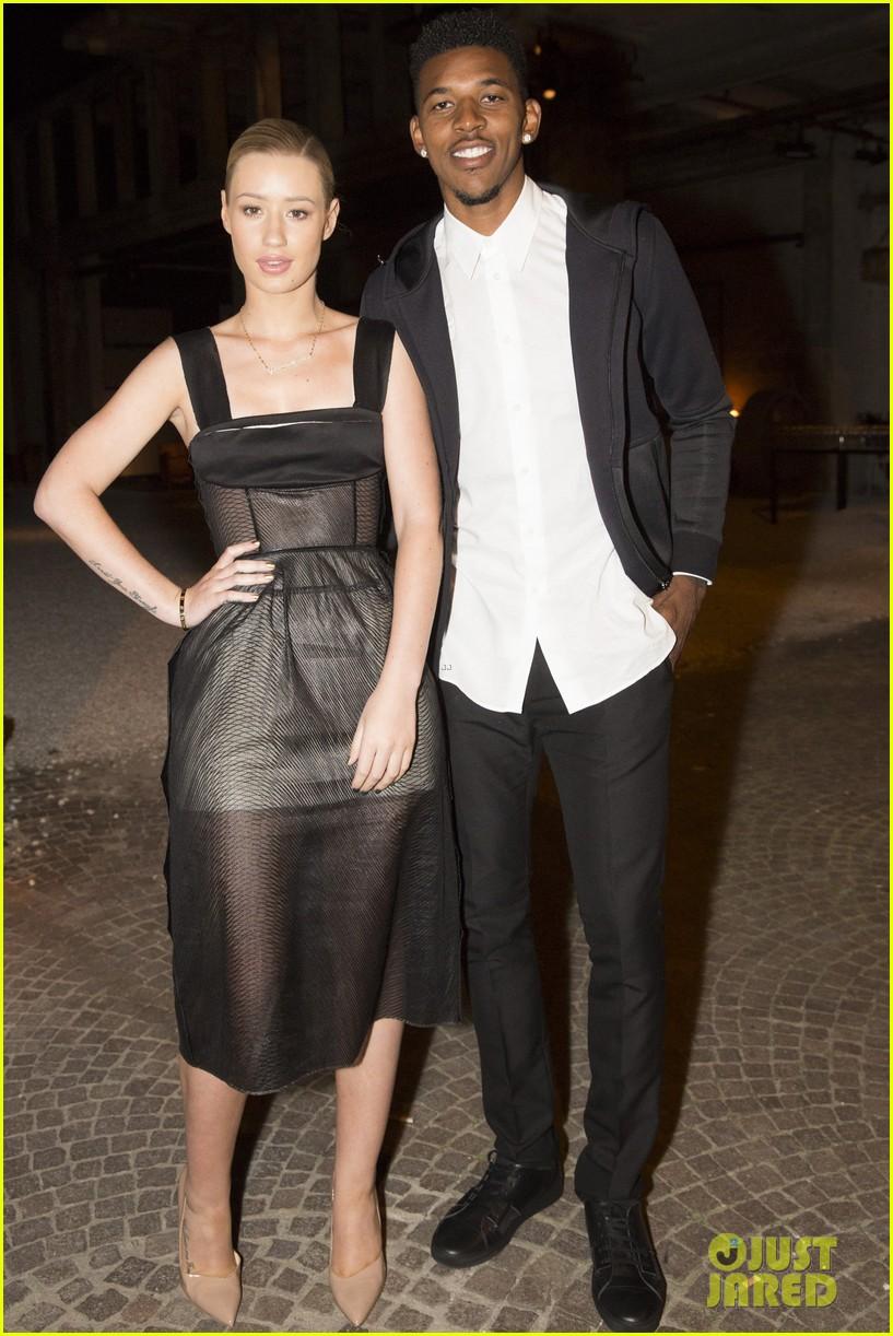 iggy azalea boyfriend nick young are fashionable duo for calvin klein 143141705