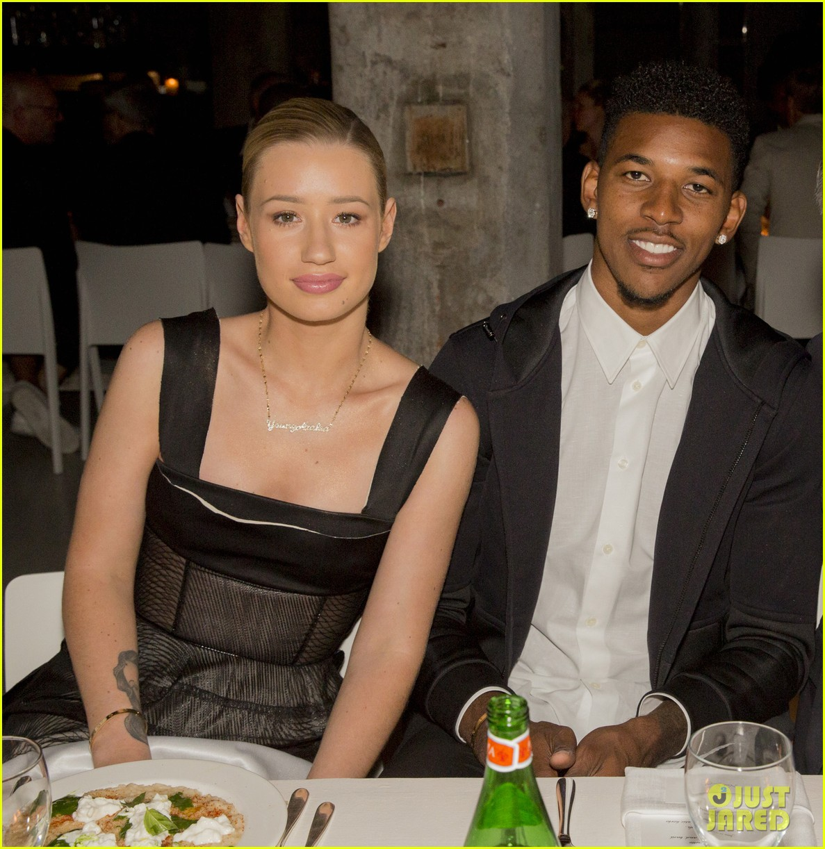 iggy azalea boyfriend nick young are fashionable duo for calvin klein 163141707