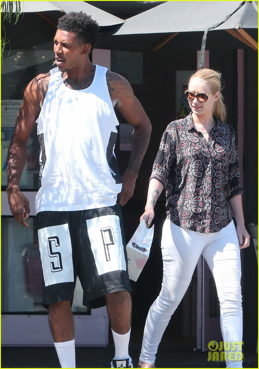 iggy azalea boyfriend nick young are one cute couple lunch 033135067