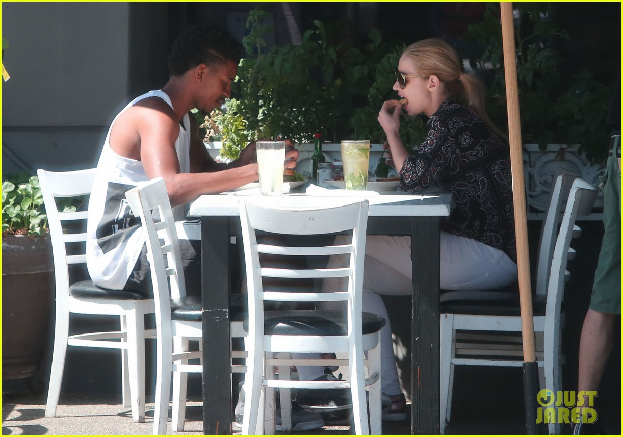 iggy azalea boyfriend nick young are one cute couple lunch 063135070