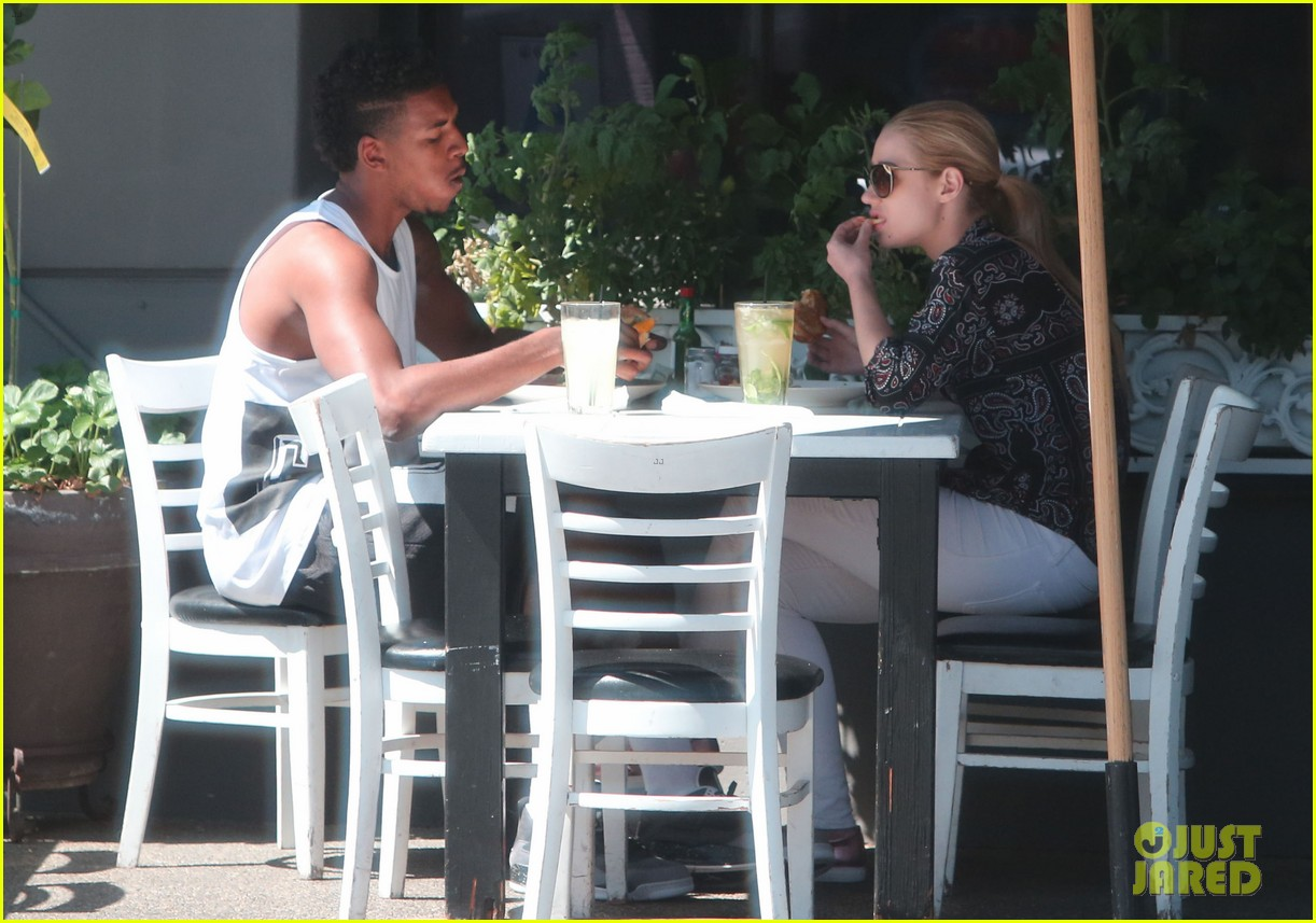 iggy azalea boyfriend nick young are one cute couple lunch 073135071