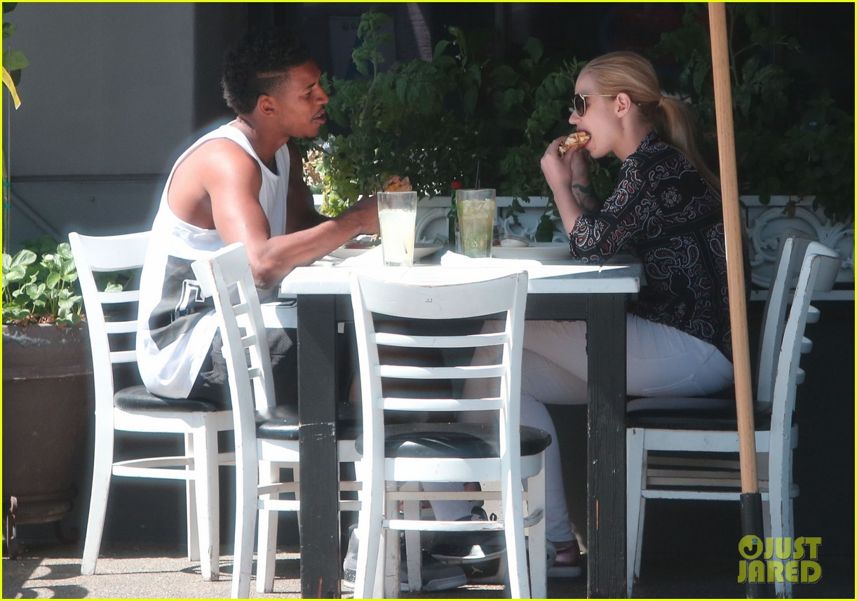 iggy azalea boyfriend nick young are one cute couple lunch 093135073