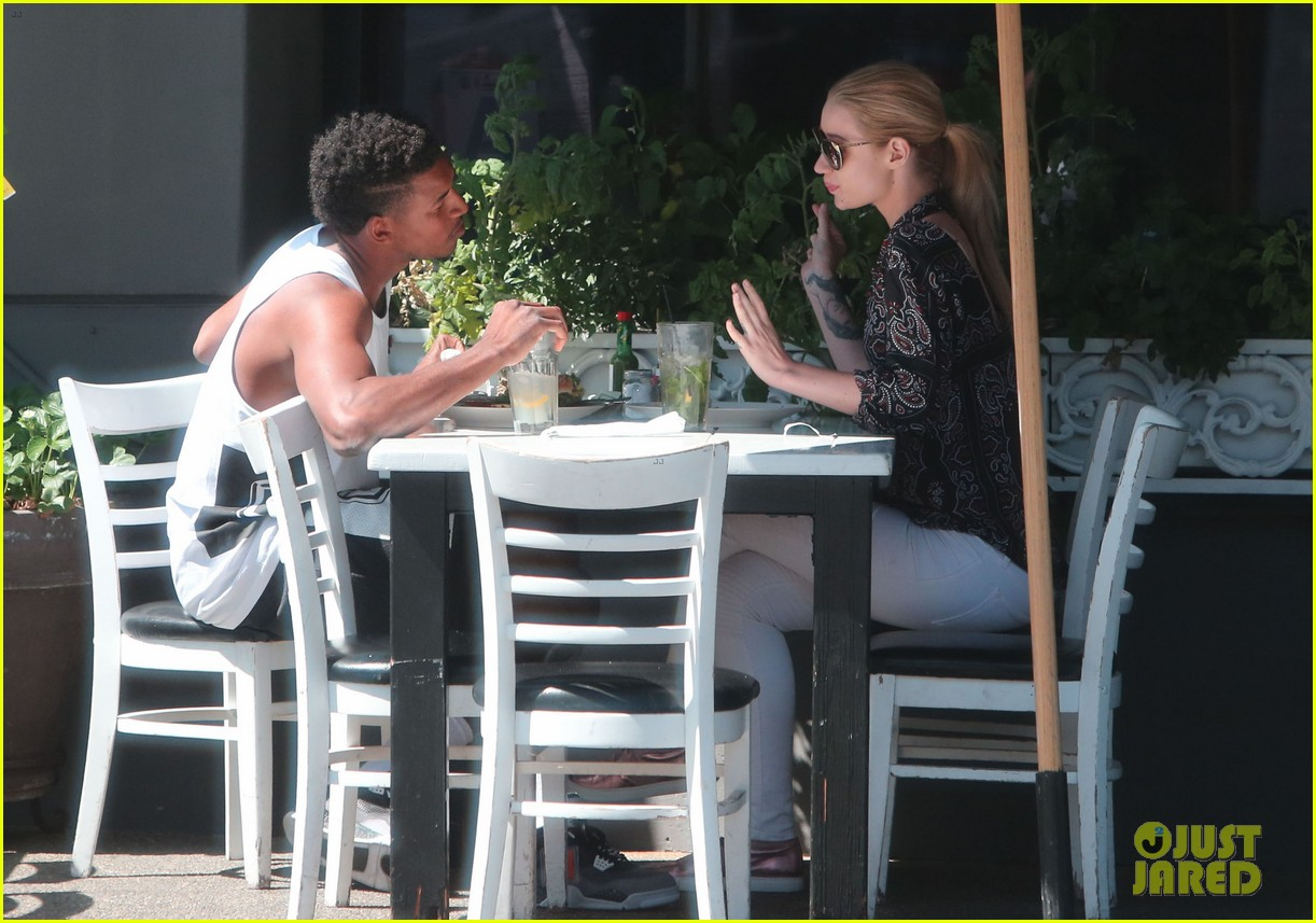 iggy azalea boyfriend nick young are one cute couple lunch 103135074