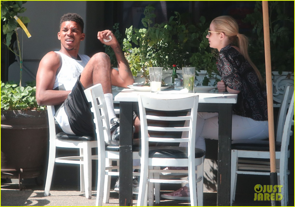 iggy azalea boyfriend nick young are one cute couple lunch 133135077
