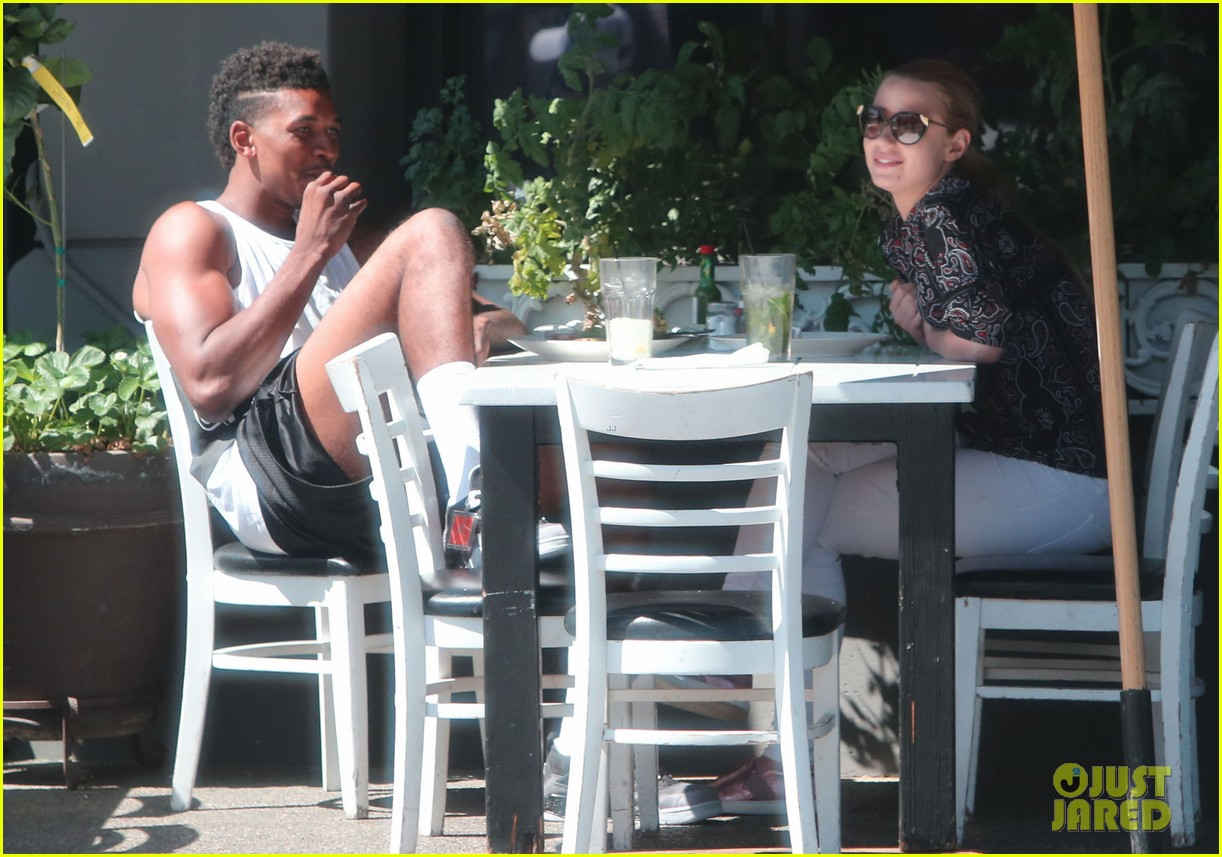 iggy azalea boyfriend nick young are one cute couple lunch 163135080