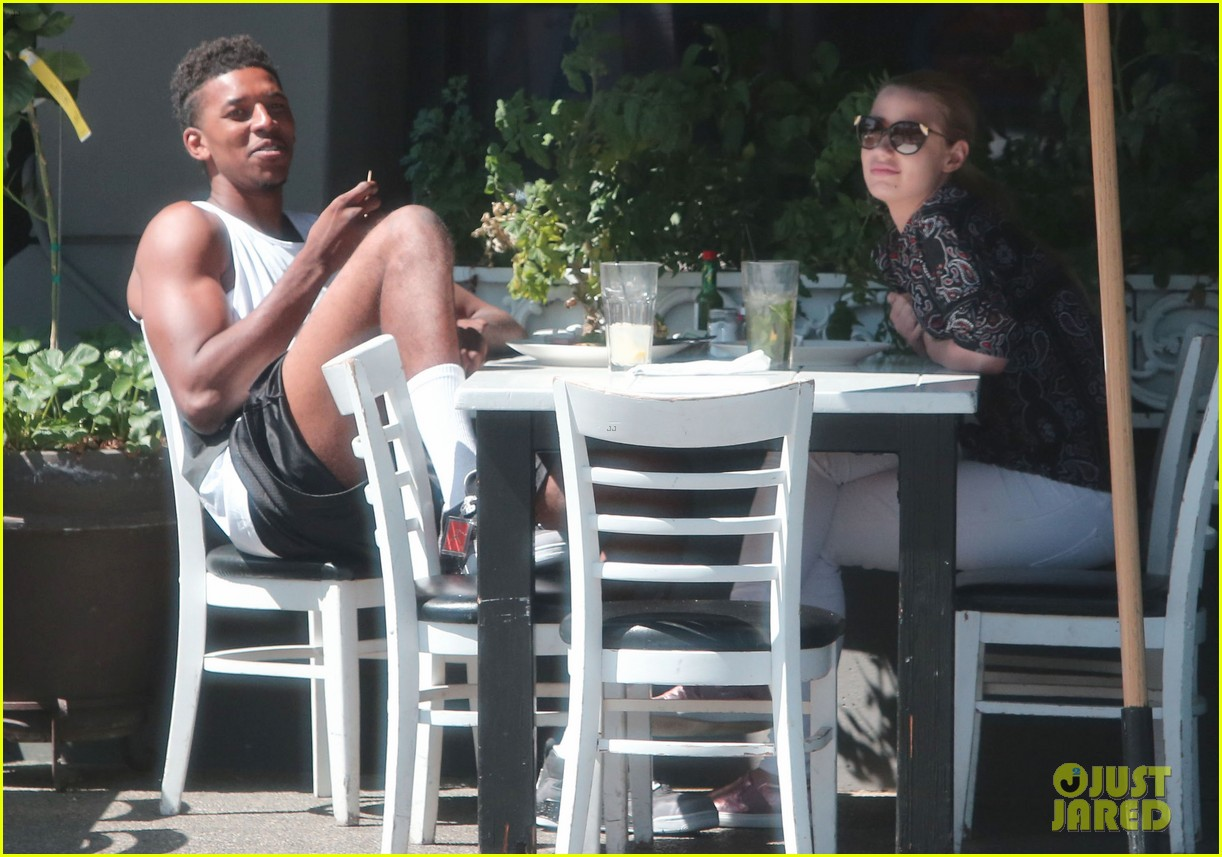 iggy azalea boyfriend nick young are one cute couple lunch 173135081