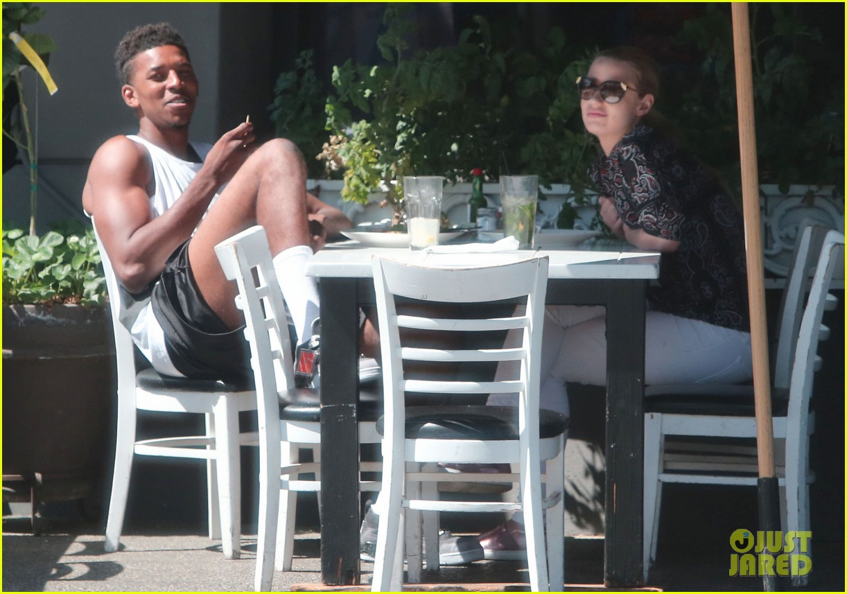 iggy azalea boyfriend nick young are one cute couple lunch 183135082