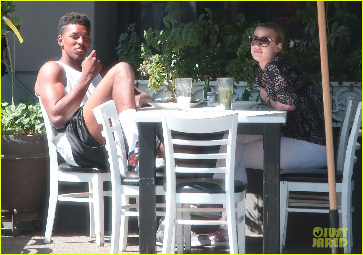 iggy azalea boyfriend nick young are one cute couple lunch 193135083