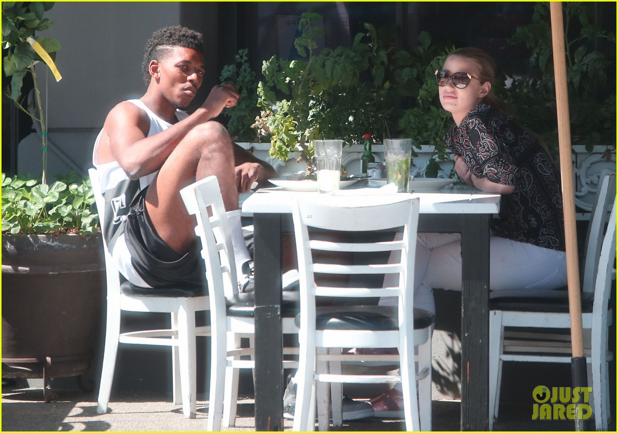 iggy azalea boyfriend nick young are one cute couple lunch 203135084