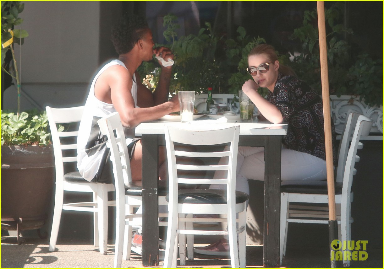 iggy azalea boyfriend nick young are one cute couple lunch 213135085