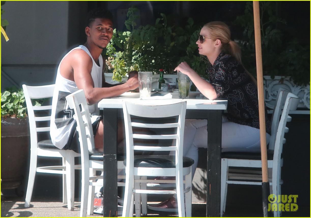 iggy azalea boyfriend nick young are one cute couple lunch 233135087