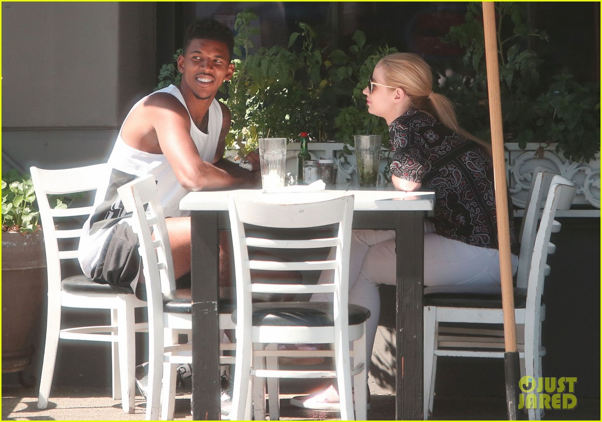 iggy azalea boyfriend nick young are one cute couple lunch 253135089